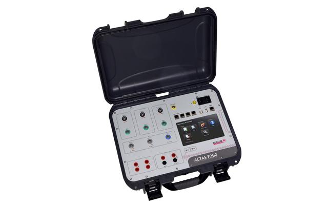 ACTAS P260 Ensayo completo de interruptores MT y AT hasta 2 cámaras por polo.