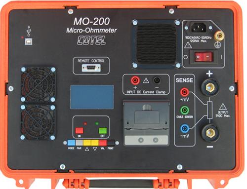 Micróhmetro de 200A de alta potencia MO-200