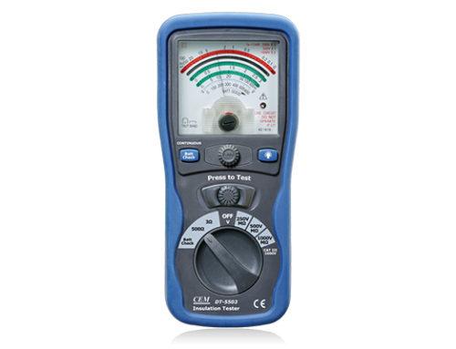 Medidor de aislamiento con indicación analógica DT-5503