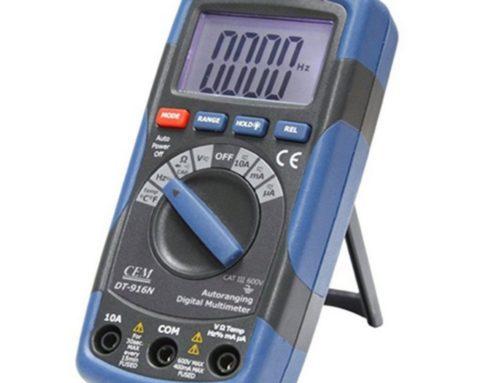 Multímetro compacto DT-916N