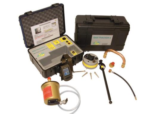Localizador de tuberías plásticas de gas GASTRACKER 2