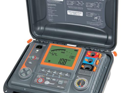Medidor de aislamiento de altas prestaciones, hasta 15 kV MIC-15k1