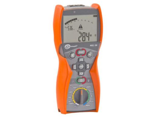 Analizador de aislamiento MIC-30