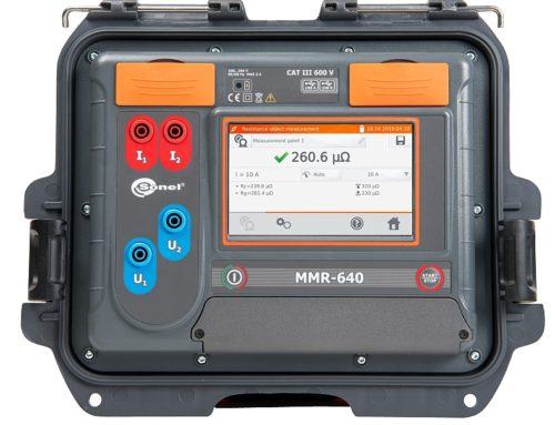 Micróhmetro portátil MMR-640