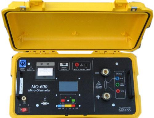 Micróhmetro de muy alta corriente, hasta 720 A MO-700