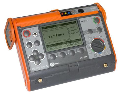Comprobador de instalaciones de redes eléctricas MPI-520
