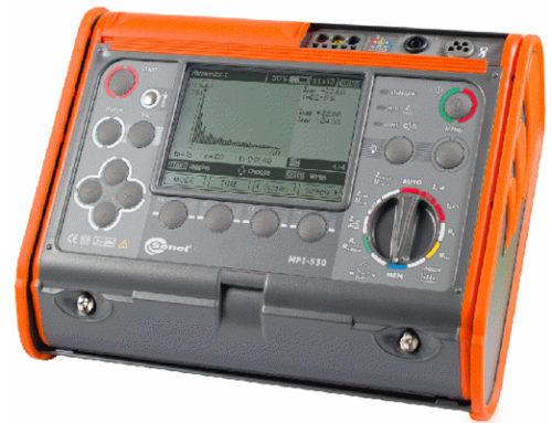 Comprobador de medida de armónicos MPI-530