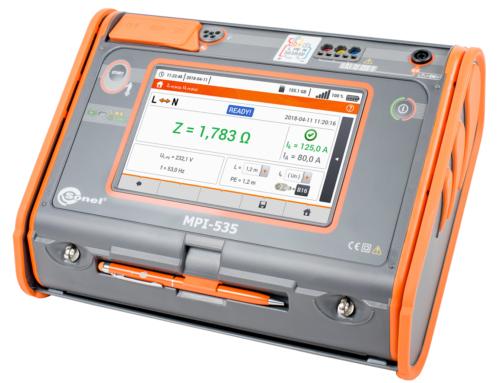 Comprobador avanzado de instalaciones BT, pantalla táctil. MPI-535