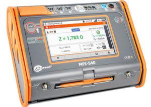 Comprobador de instalaciones eléctricas MPI-540