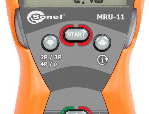 Telurómetro 4 bornas MRU-11