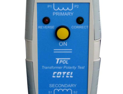 Comprobador de polaridad en transformadores de medida TPOL